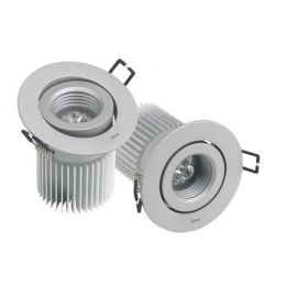DOWNLIGHT 705.22 ORIENTABLE WW FLOOD BL.