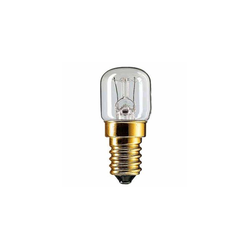 Lámpara tubular horno 230V 15W E14 D22 mm.