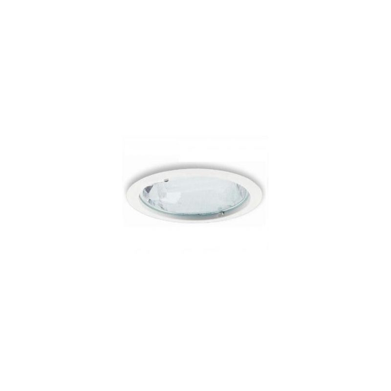 DOWNLIGHT 2X26W CR. MATE CRISTAL MATE