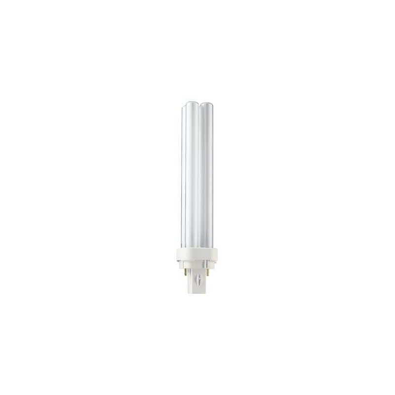 Lámpara bajo consumo MASTER PL-C 2 Patillas 18W 2700K