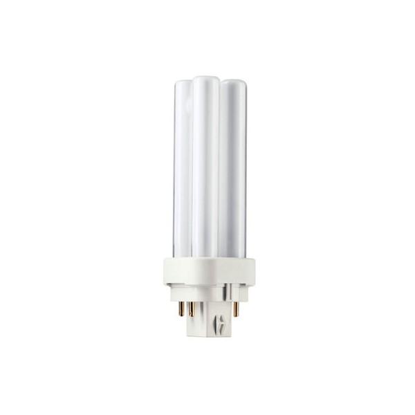 Lámpara bajo consumo MASTER PL-C 4 Patillas18W