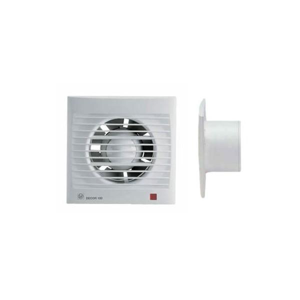Extractor Baño No Se Apaga:Extractor para baño Decor – 100CR SOLER Y PALAU 5210002100 – Tienda