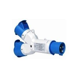 TOMA CTE.2SAL.16A 2P+T 200-250V IP44