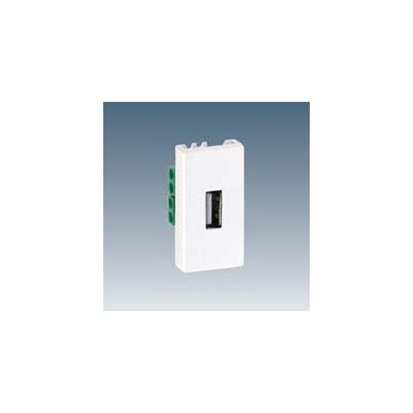 PL.K45 1/2 MEC.1 CONECT.USB TIPO-A BL.NV