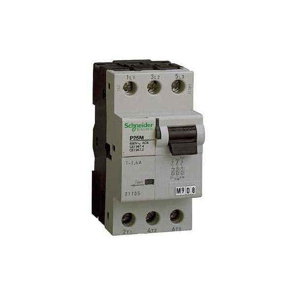 INT.PROTECTOR MOTOR P25M 3P 6,3A