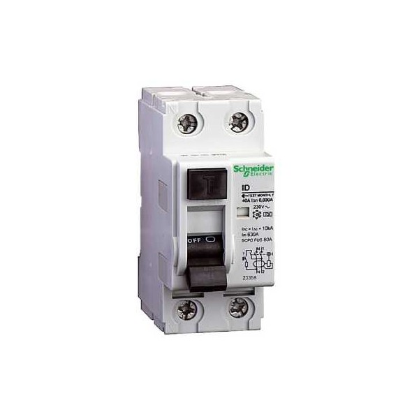 INT.DIF.-A 2P 40A 30mA 240V