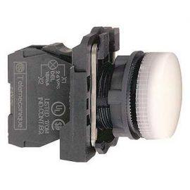 PILOTO C/LED d.22 230-240V BL.E.PLAST.