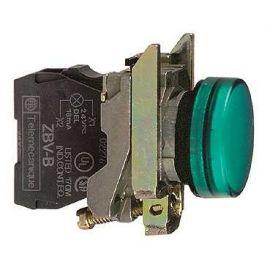 PILOTO C/LED d.22 110-120V VERDE E.MET.