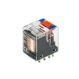 RELE IND.MINI 24VDC PULS.+IND.4CO 5A (R.ANT.553490