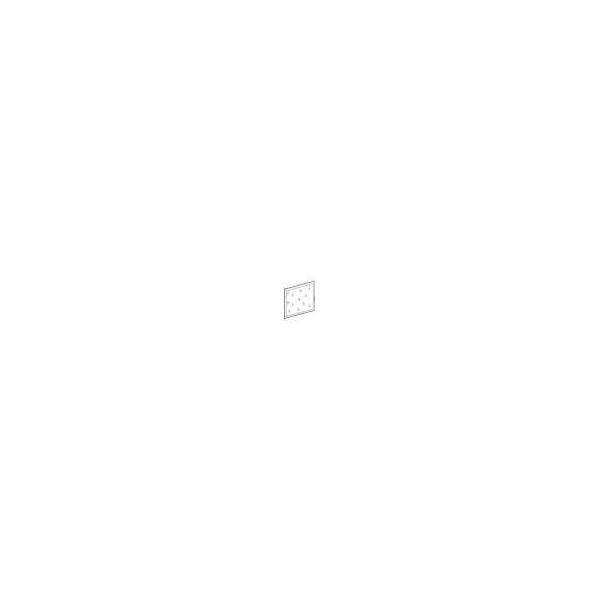 PUERTA TRANSP.PACK 2 FILAS H:480mm