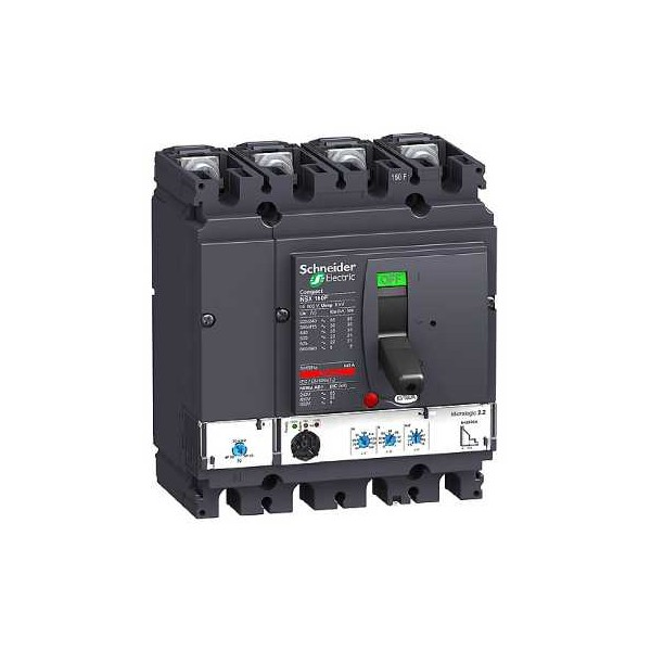 NSX160F MICROLOGIC 2.2 160A 4P4R