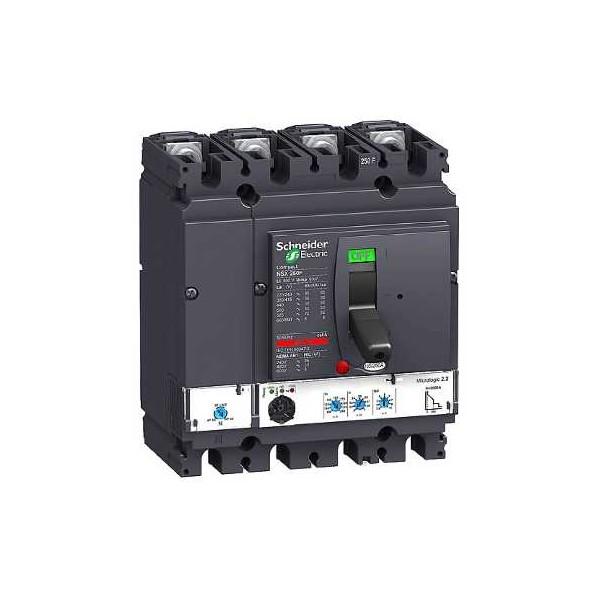 NSX250F MICROLOGIC 2.2 250A 4P4R