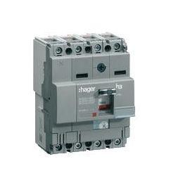 INT.AUT.X160 4P4D 25KA 160A TM REGBL.F.