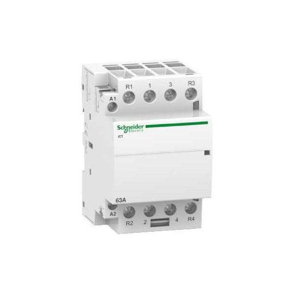 CONTACTOR ICT 63A 2NA+2NC 230/240V CA