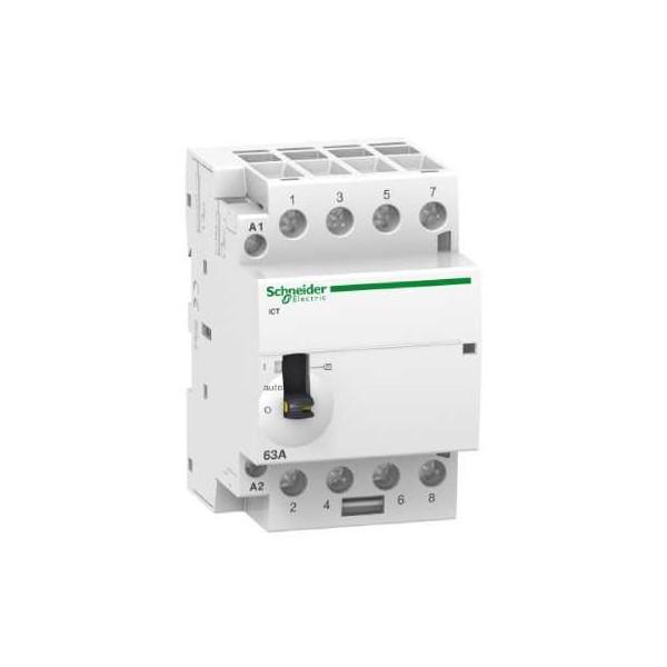 CONTACTOR ICT 63A 4NA 230/240V CA