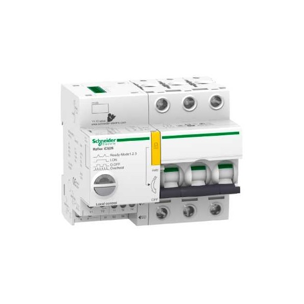 INT.C/REFLEX IC60N TI24 10A 3P CURVA-B