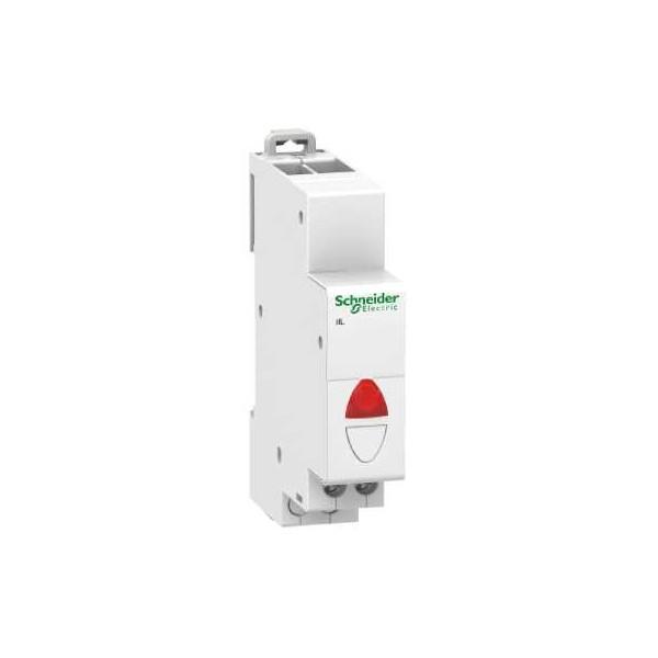 PILOTO SIMPLE IIL 110-230V AC VERDE