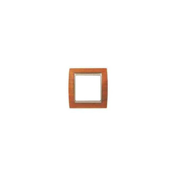 Marco 1 elemento madera cerezo Serie 82