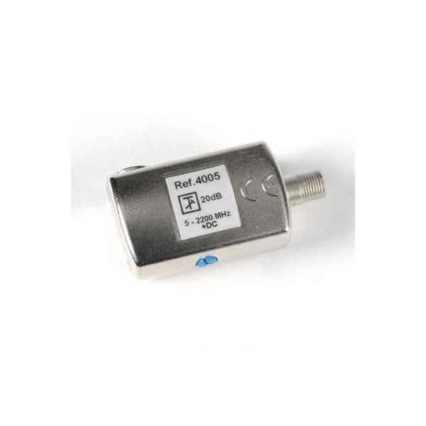 Atenuador 0-20 dB ajustable paso DC