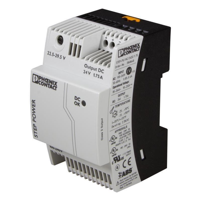 Fuente alimentación STEP Power 1AC/12DC/3