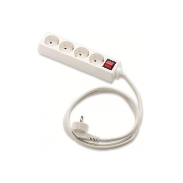 Prolongador 4 tomas bip 16a 250v c obt int 18014il tienda - Interruptor con enchufe ...