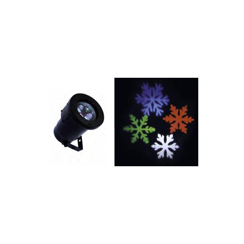 FOCO SNOWFLAKE MULTICOLOR 8W 230V IP67
