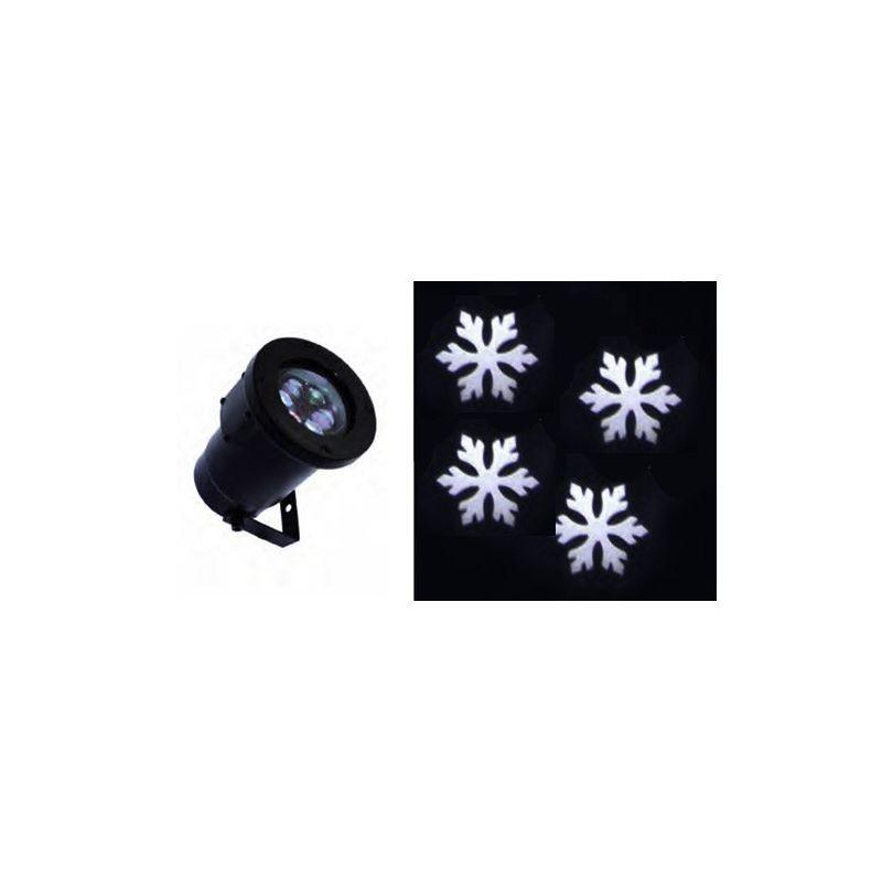 FOCO GIRO SNOWFLAKE BLANCO 8W 230V IP67