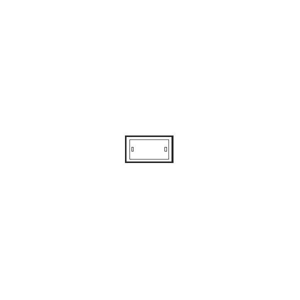 Caja de empotrar blanca para emergencias G5