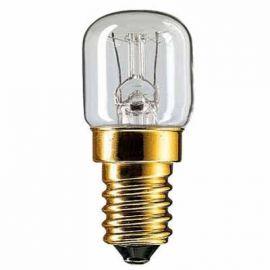 Lámpara tubular para horno 230V 15W E14 D22 mm.