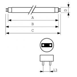 Lámpara MASTER TL-D Super 80 30W/840 1SL