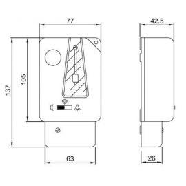 Categorias ORBIS 080232 MINUTERO AUTOMAT.ESCALERA T-11 230V