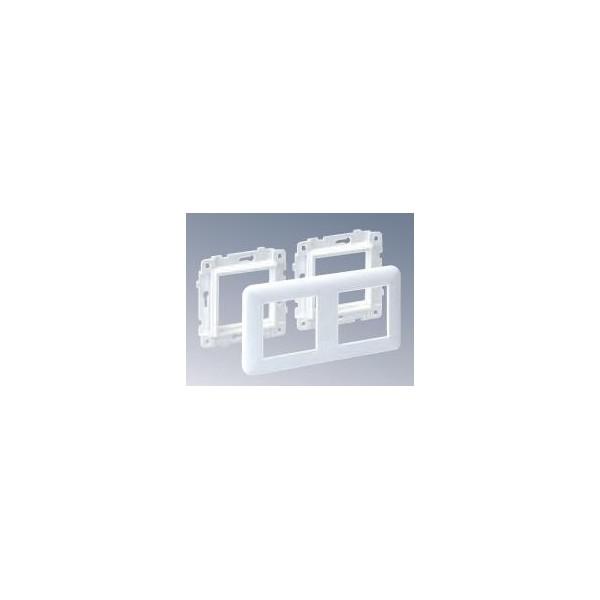 MARCO+BASTIDOR DOBLE P/MOD.45x45mm BL.NV