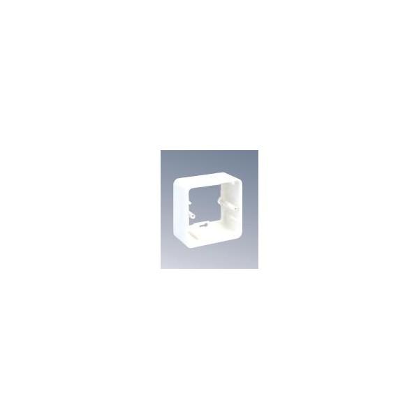 CAJA INDIVIDUAL DE DATOS 80x80 BL.NIEVE
