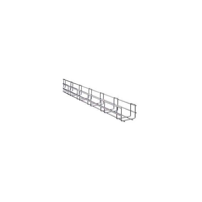 BANDEJA REJINORMA REI 70x400 INOX.(3m)