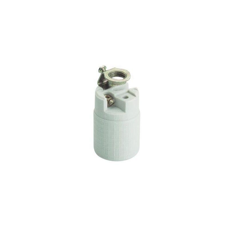 Portalámparas de porcelana E-14 479A de Solera