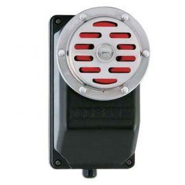 Avisador con sonido claxon intermitente de gran potencia 230V Rodman RS67I1