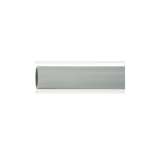 Tubo rígido enchufable PVC métrica 20