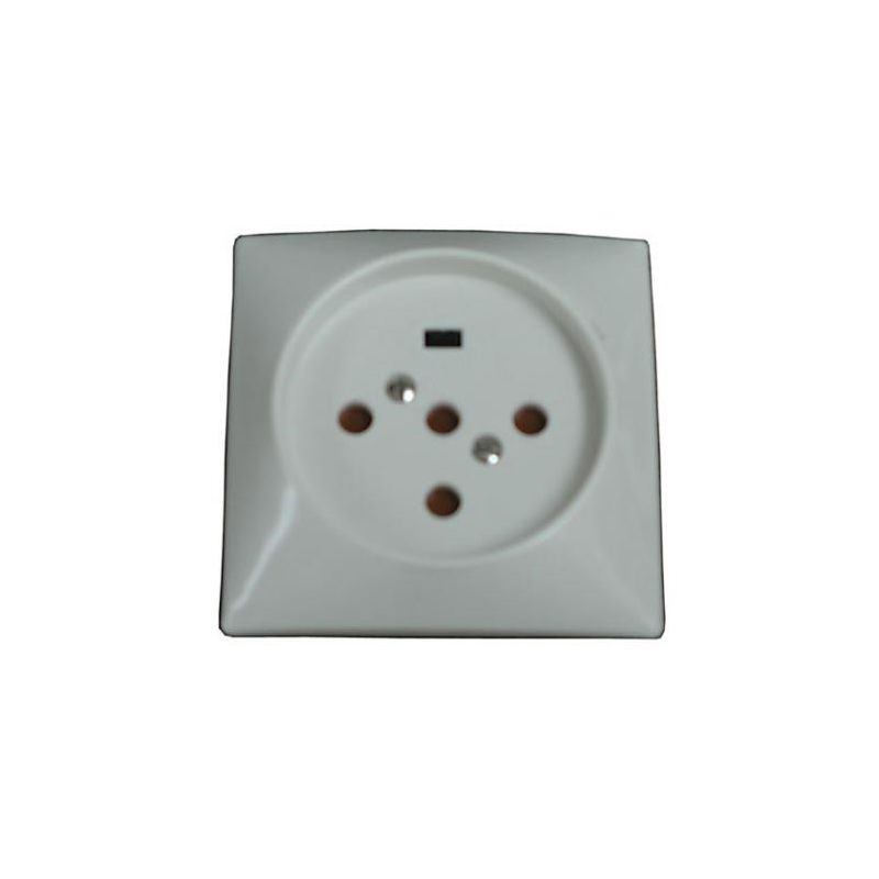 Pequeño material eléctrico LEGRAND Base Enchufe Trifásica 3P+N+T 20A 400V 80X80 mm 055427
