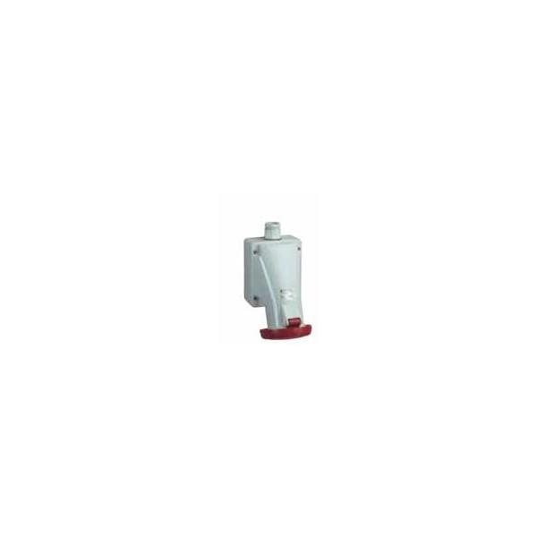 BASE MURAL 63A 3PT 380-415V IP67