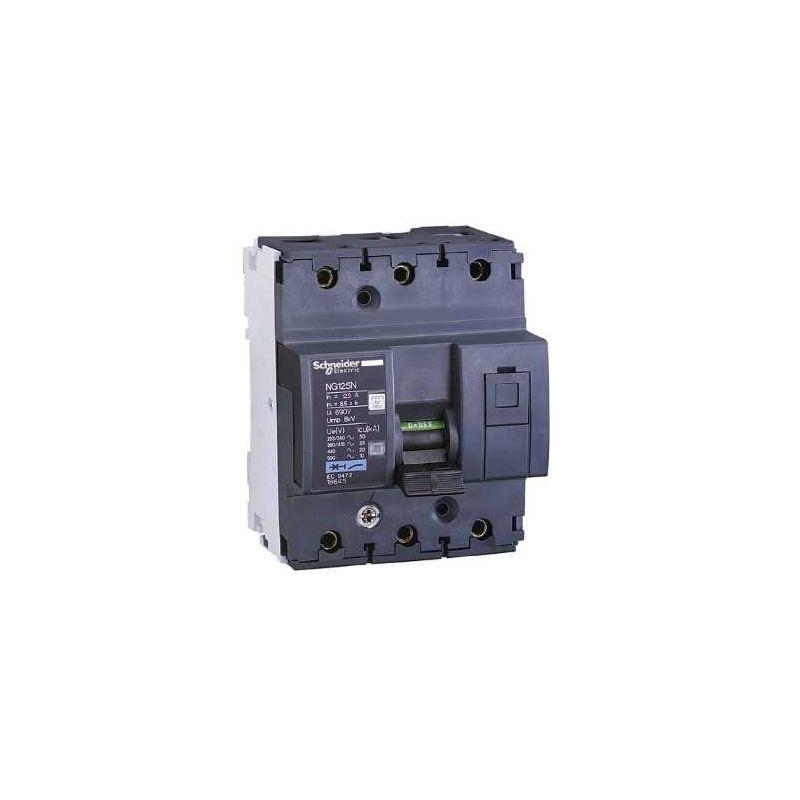 Aparellaje industrial SCHNEIDER MAGNETOT.NG125N 3P 63A CURVA C