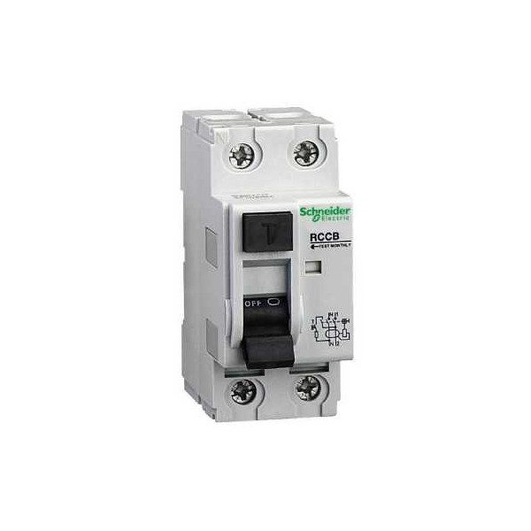 INT.DIF.2P 25A 10mA 240V