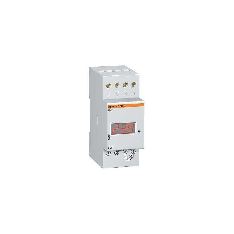 Aparellaje industrial SCHNEIDER VOLTIMETRO DIGITAL 0-600V