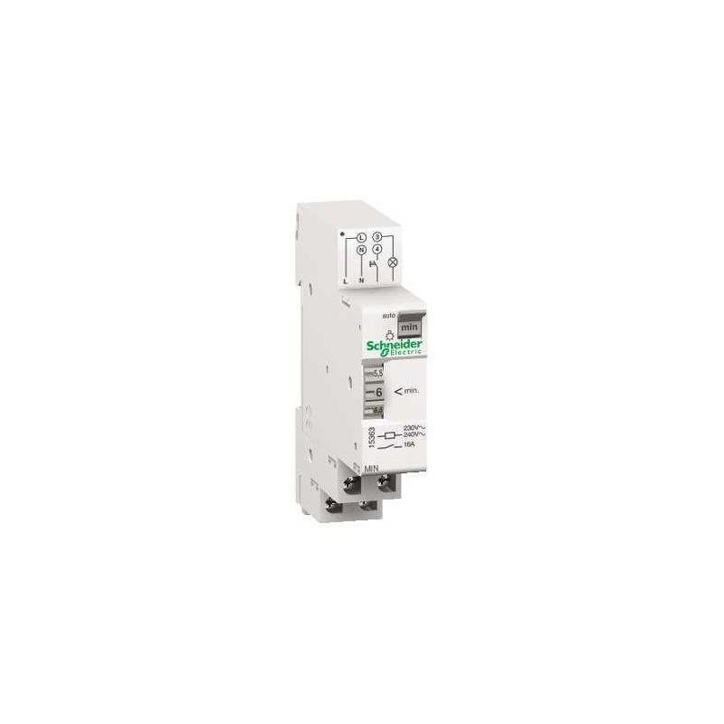Automáticos de escalera SCHNEIDER Minutero temporizador electromecánico desde 1 a 7 min