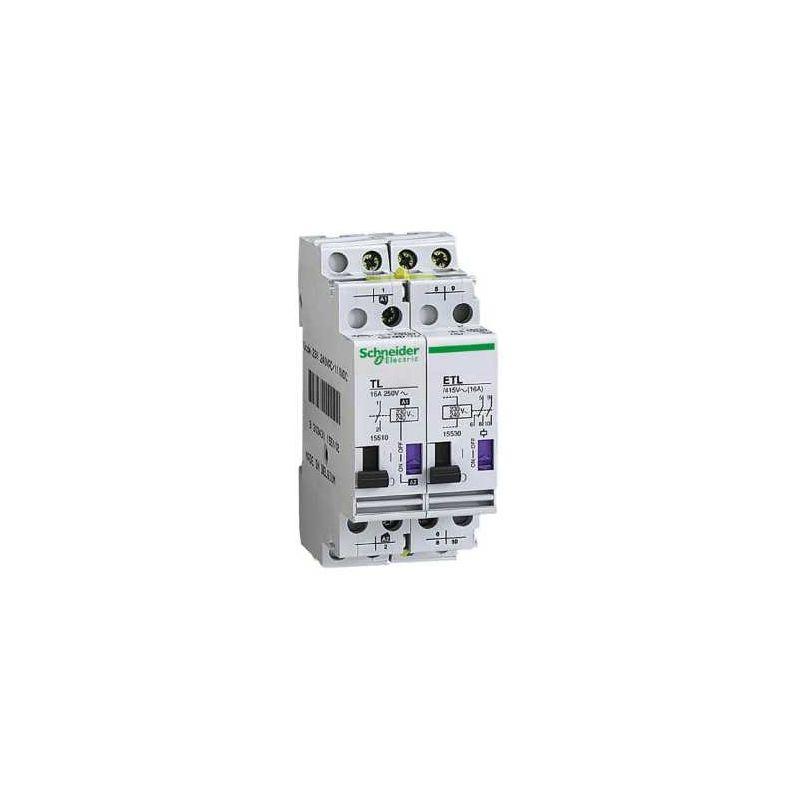 Aparellaje industrial SCHNEIDER TELERRUPTOR 1P 16A 230V CA 110V CC