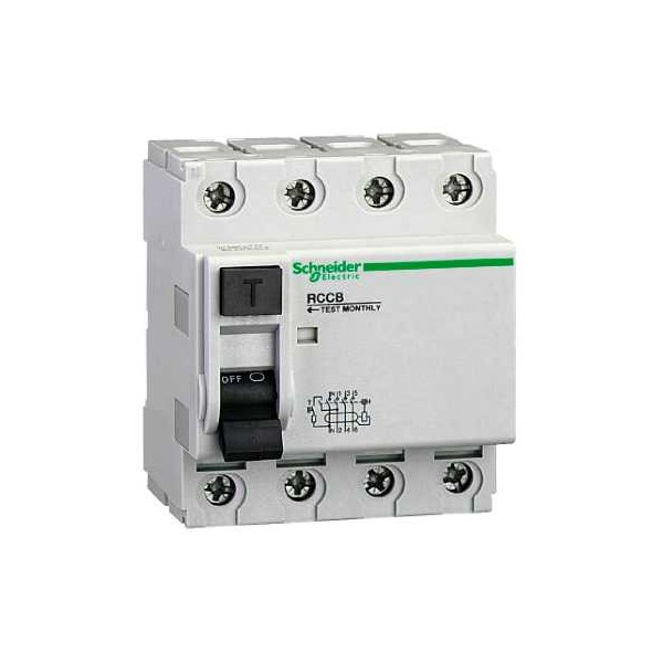 INT.DIF.4P 40A 30mA 415V
