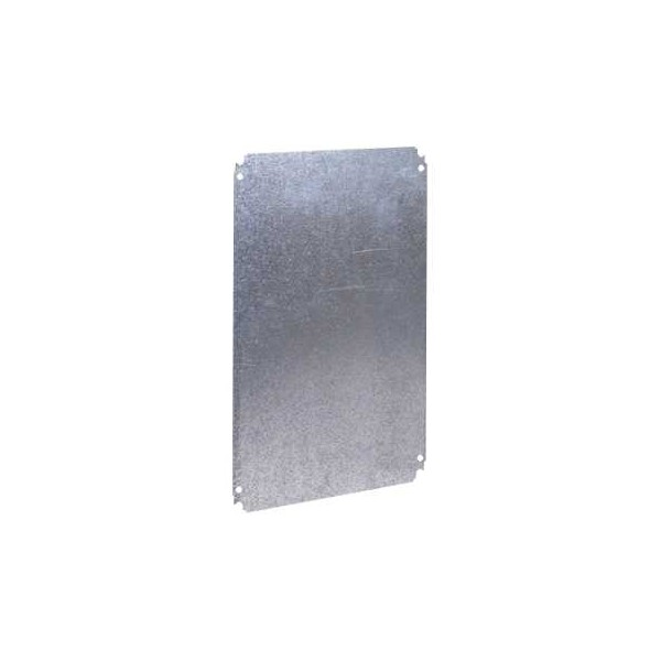 Placa montaje metalica 700x500mm