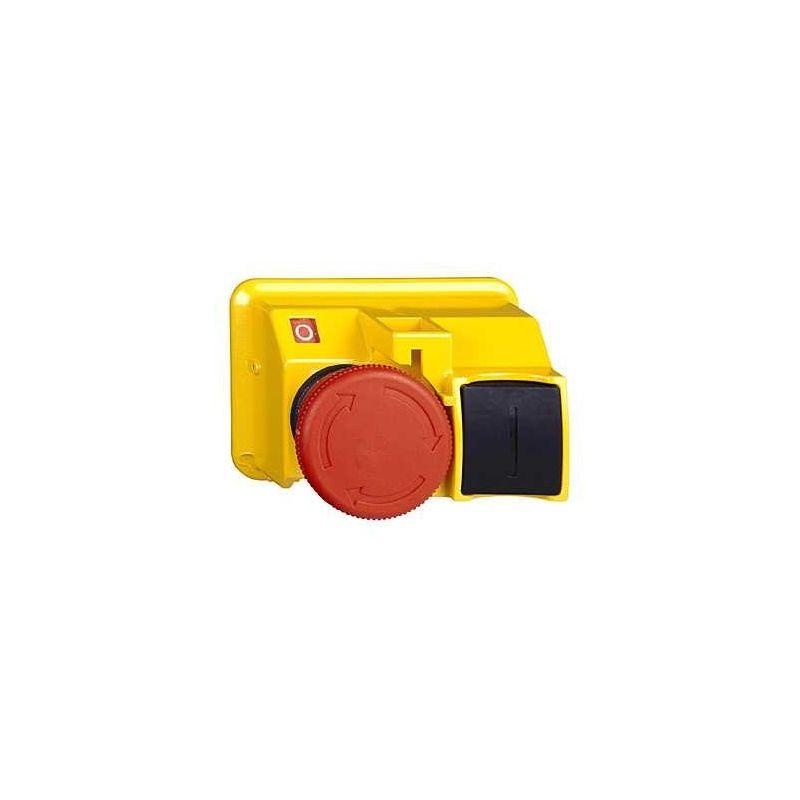 """Botón de Paro """"de seta"""" GV2K031 Schneider"""