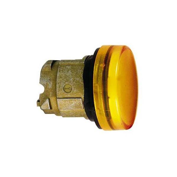 CABEZA C/LAMP.BA9s AMARILLO