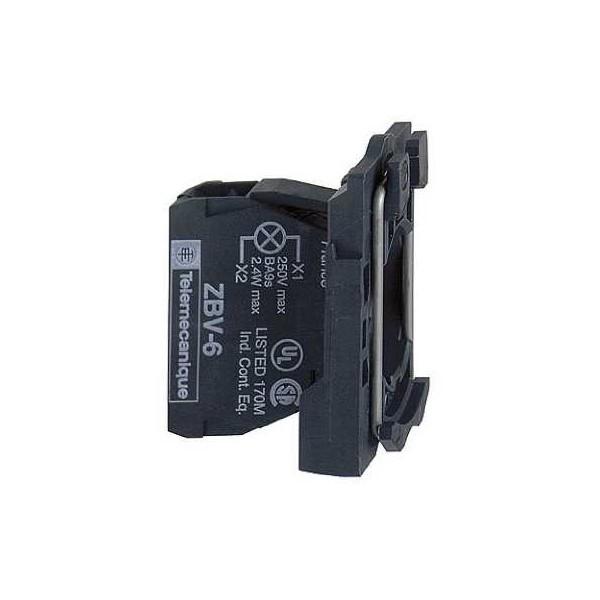 CPO.d.22 24V C/LED BL.TORN.E.PLAST.