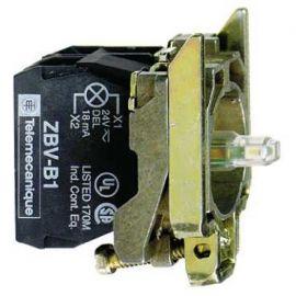 CPO.d.22 24V 1NA-1NC C/LED VD.TORN.E.MET